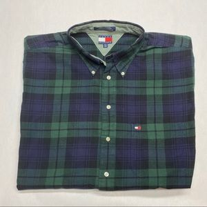TOMMY HILFIGER 2XLT CASUAL BUTTON DOWN